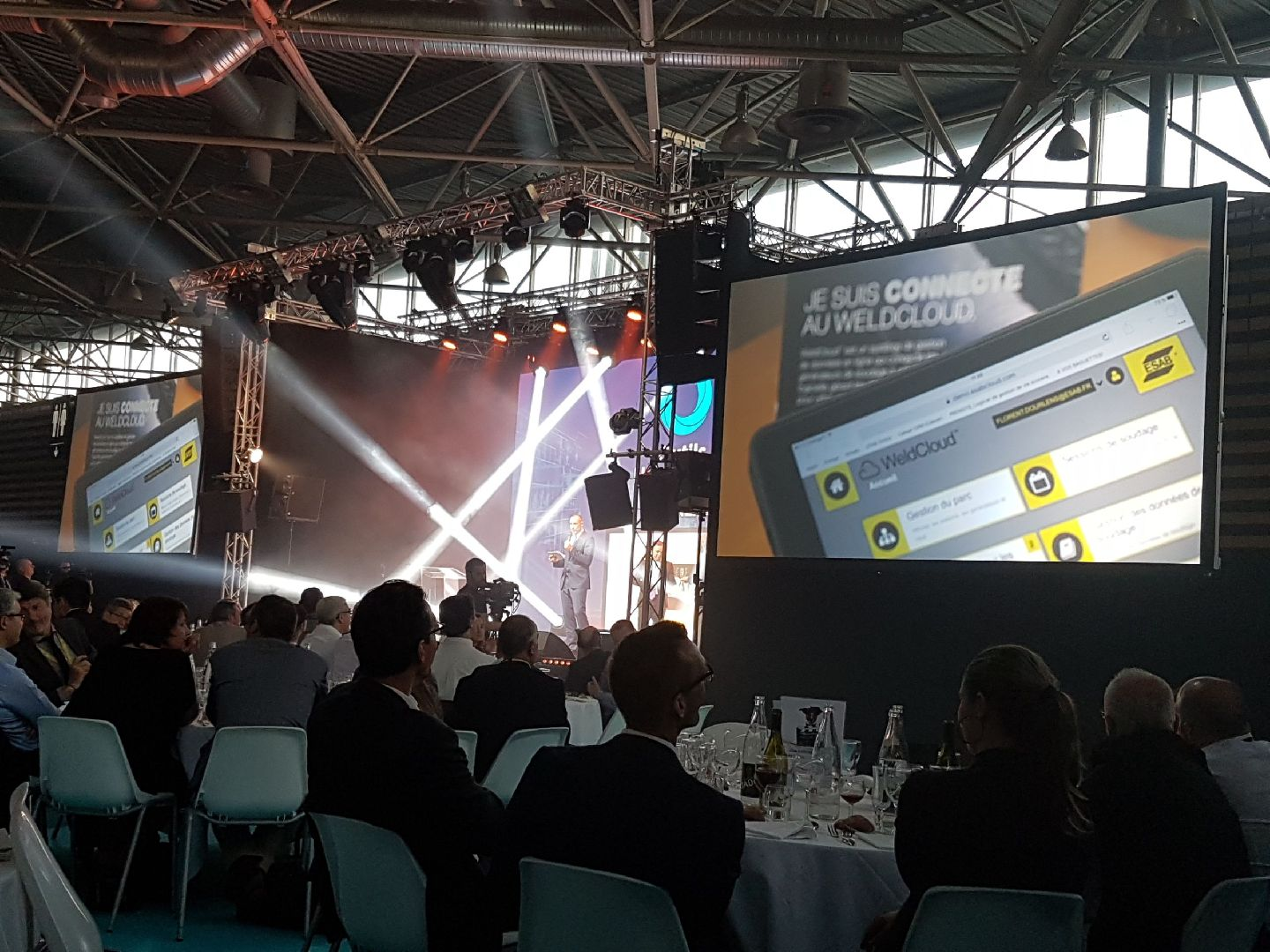 Award Ceremony - ESAB wins Industrie Lyon award for WeldCloud™